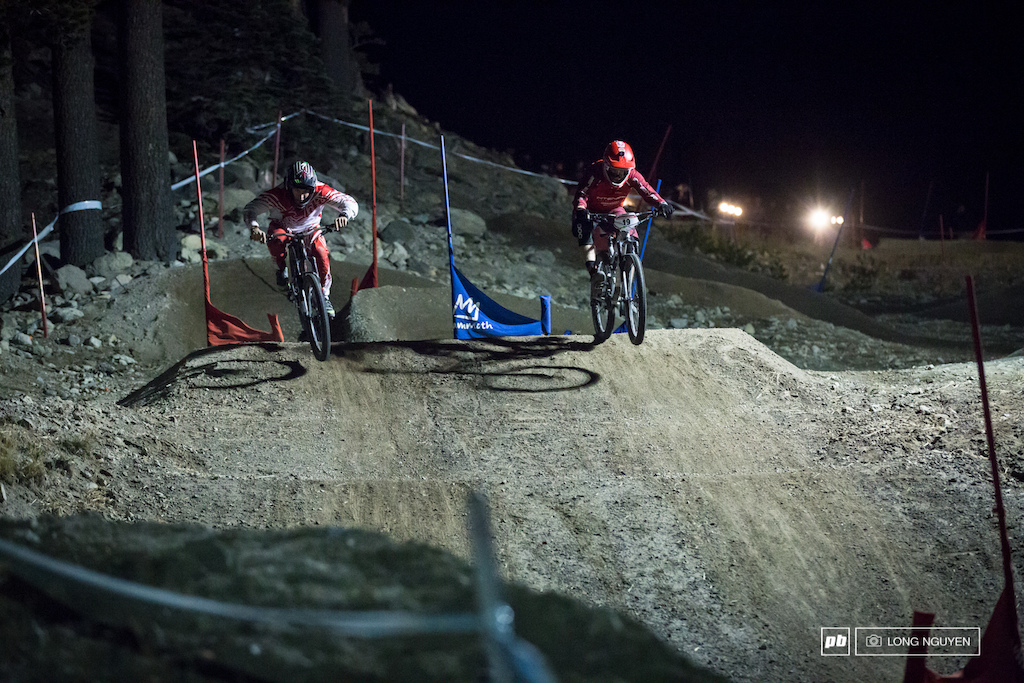Mitch Ropelato and Luca Cometti go head to head in the semi finals.