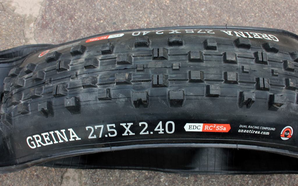 Check Out - October ONZA Greina tire.