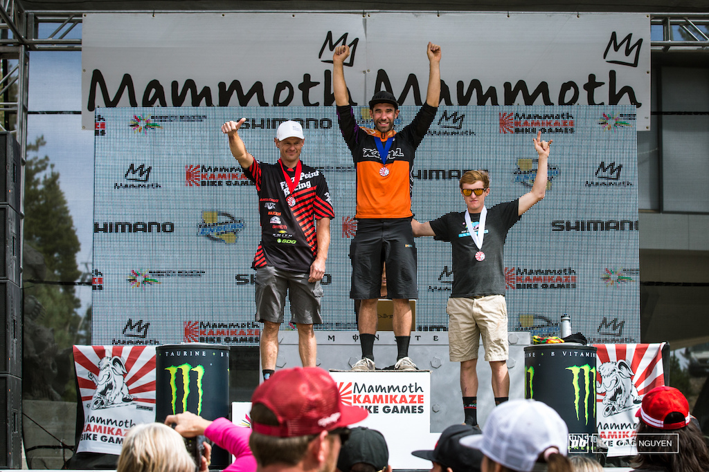 Pro Open Men s Winners 1st Ryan Gardner 2nd Tim Krentz 3rd Teddy Hayden.
