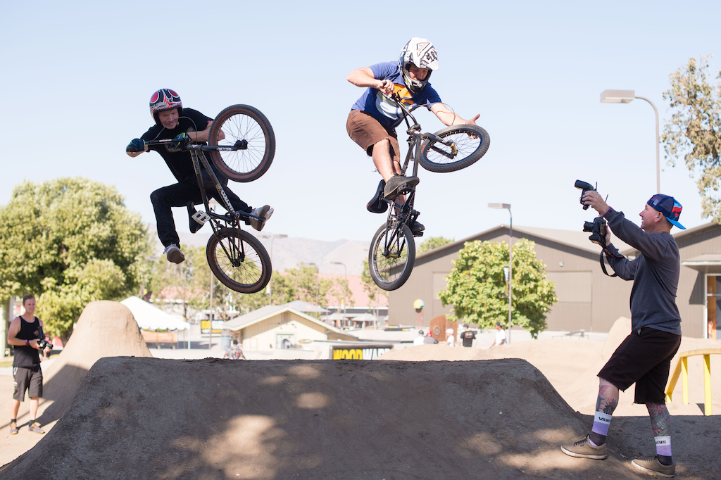 Images from Brian Lopes All Star Weekend at Woodward west.