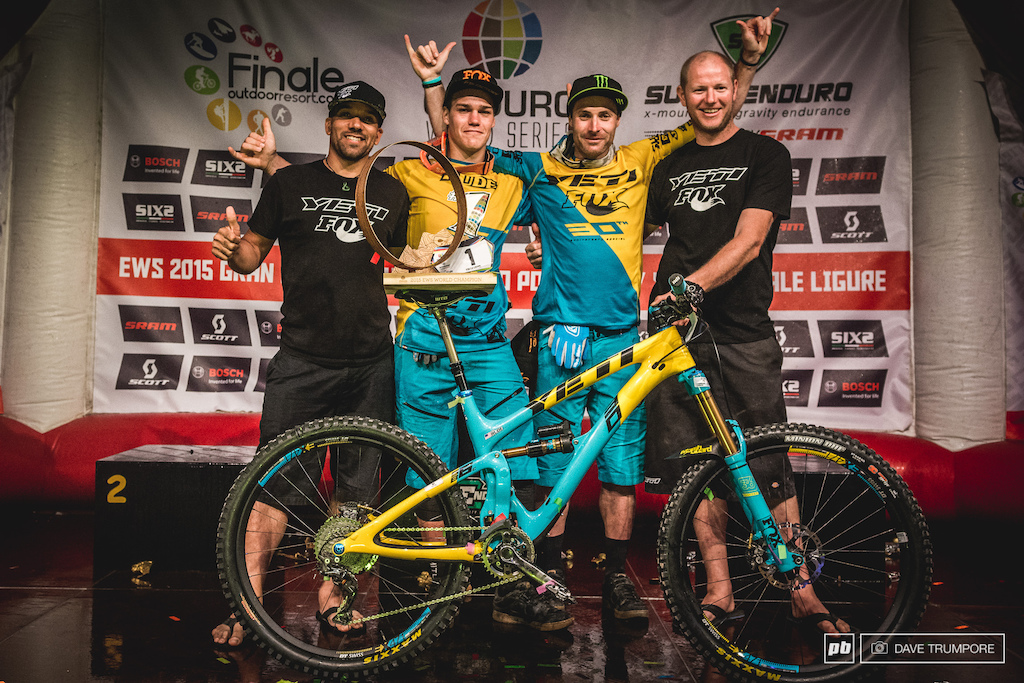 What a magical two years for the Yeti crew. Back to back EWS World Championships under Jared Graves and Richie Rude.