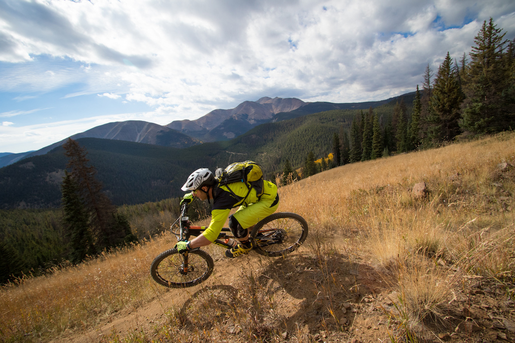From the top of the first stage Starvation Creek has incredible views and a few hidden speed check moto whoops to keep you on your toes. Rider Botsy Philips handles them like a seasoned vet. Other riders didn t fair so well.