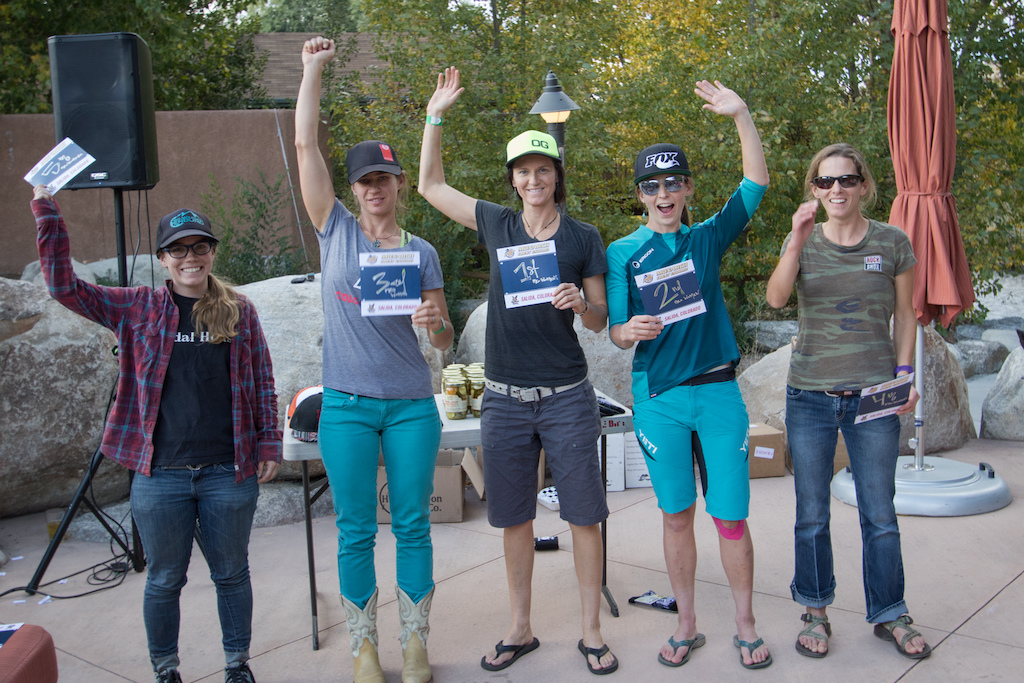 Pro Women 1. Megan Rose 2.Sarah Rawley 3.Leigh Bowe 4.Stephanie Leonard 5. Jill Behlen