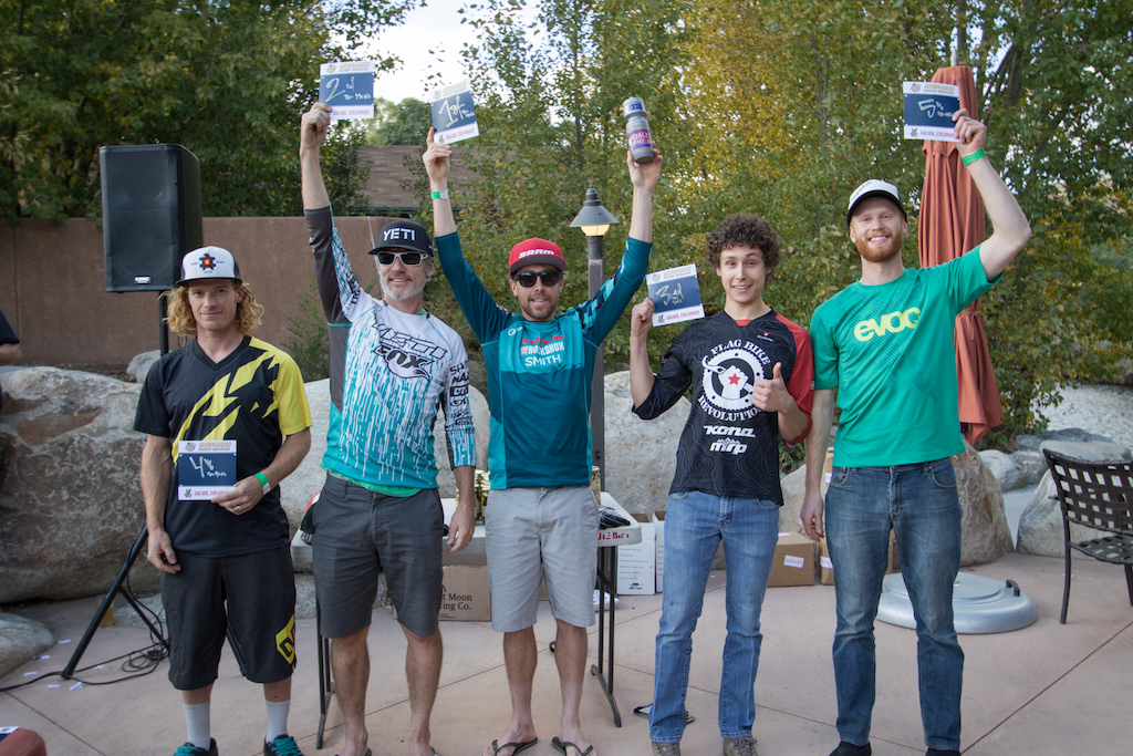 Pro Men 1. Nate Hills2. Michael West 3.Scott Countryman 4. Alex Petitdemange 5. Flynn George
