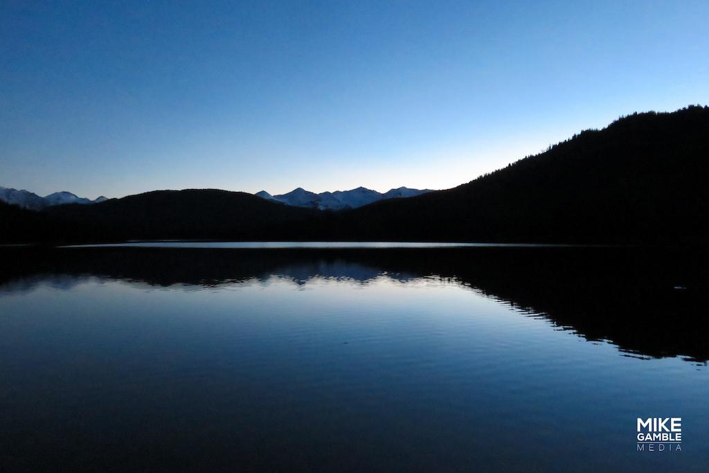 Good night Spruce Lake