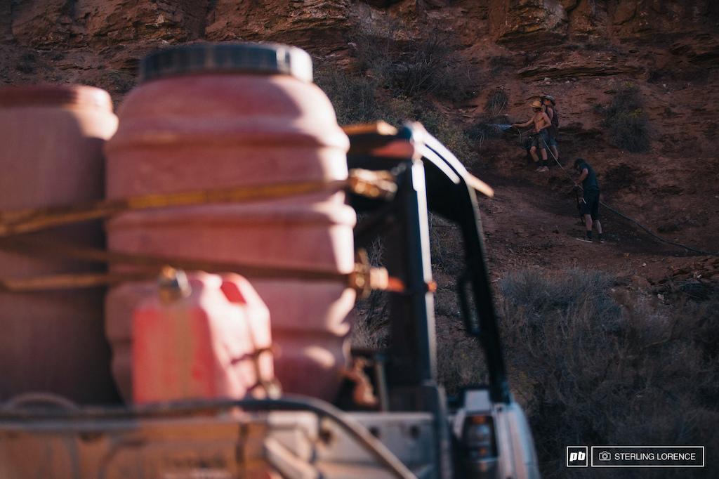 all the resources avavilable at RedBull Rampage 2015 Virgin Utah USA