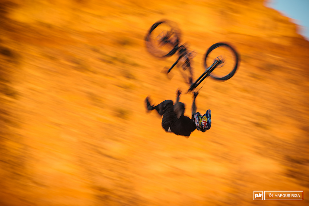 Lacondeguy s Superflip to flat. It s easy to go too fast on the RZR hip.