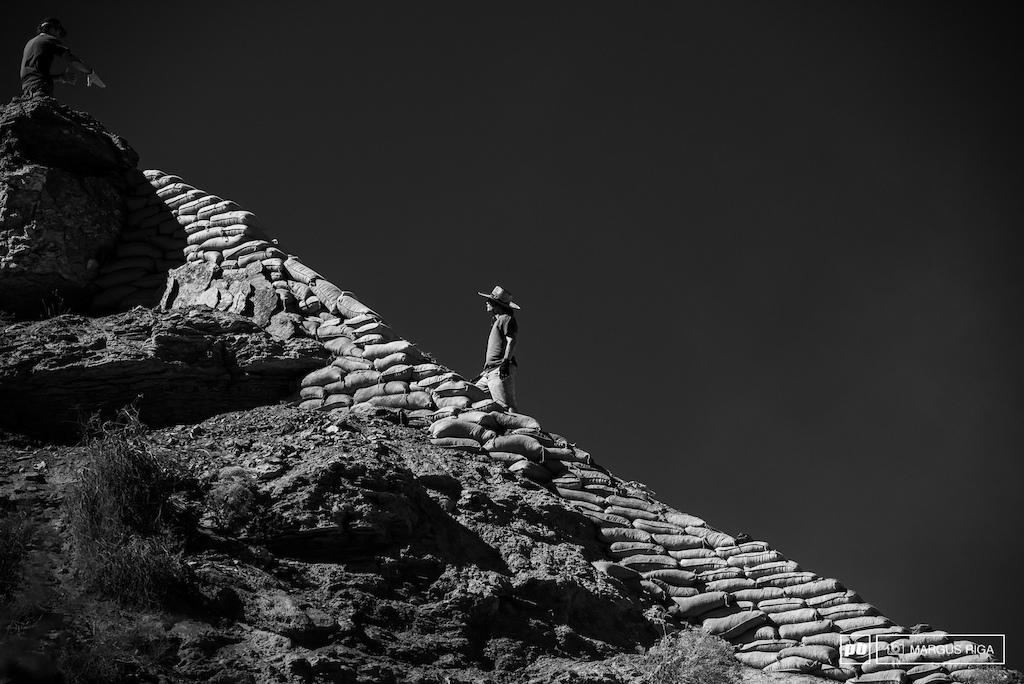 Tyler McCaul s Great Wall of Rampage.