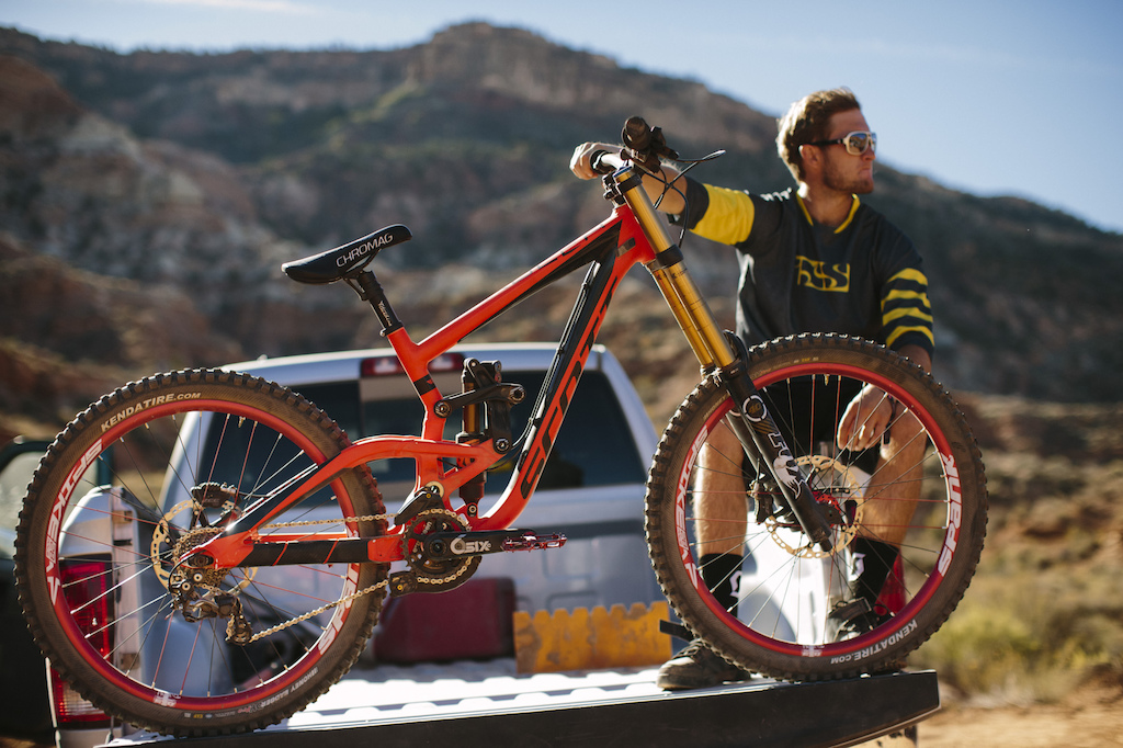Paul Basagoitia at RedBull Rampage 2015 Virgin Utah USA