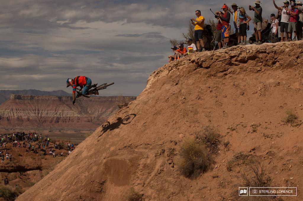 the Claw at RedBull Rampage 2015 Virgin Utah USA