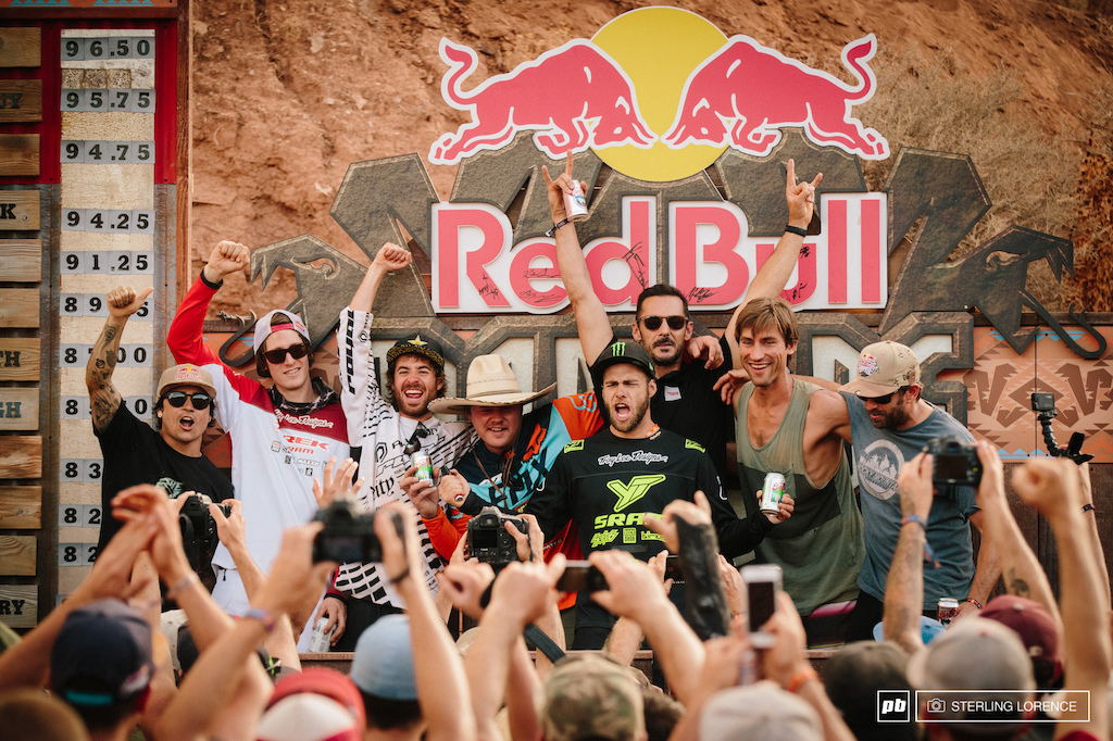 the 10 years of winners of Rampage at RedBull Rampage 2015 Virgin Utah USA