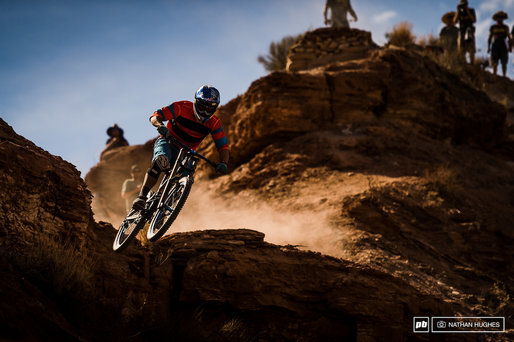The Canadian legend clawed his way back to another top 10 Rampage performance on his new ride.
