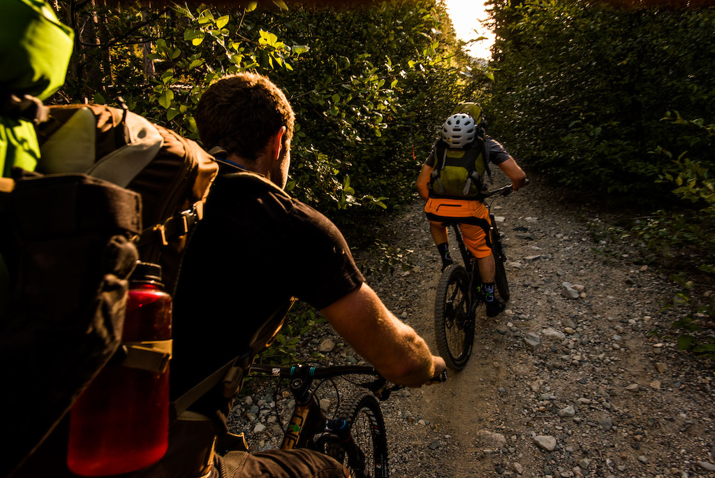 Alpine overnighter. Rad mountain bike packing mission. Photo Reuben Krabbe
