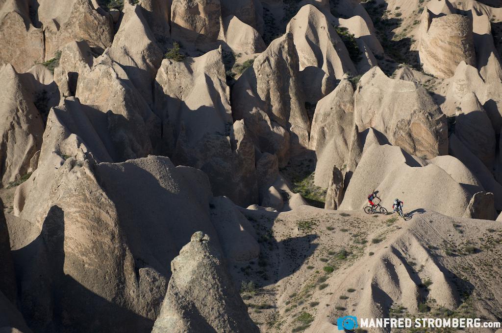 Cappadocia Turkey. Riders Tom hler and Tobias Woggon Photo by Manfred Stromberg