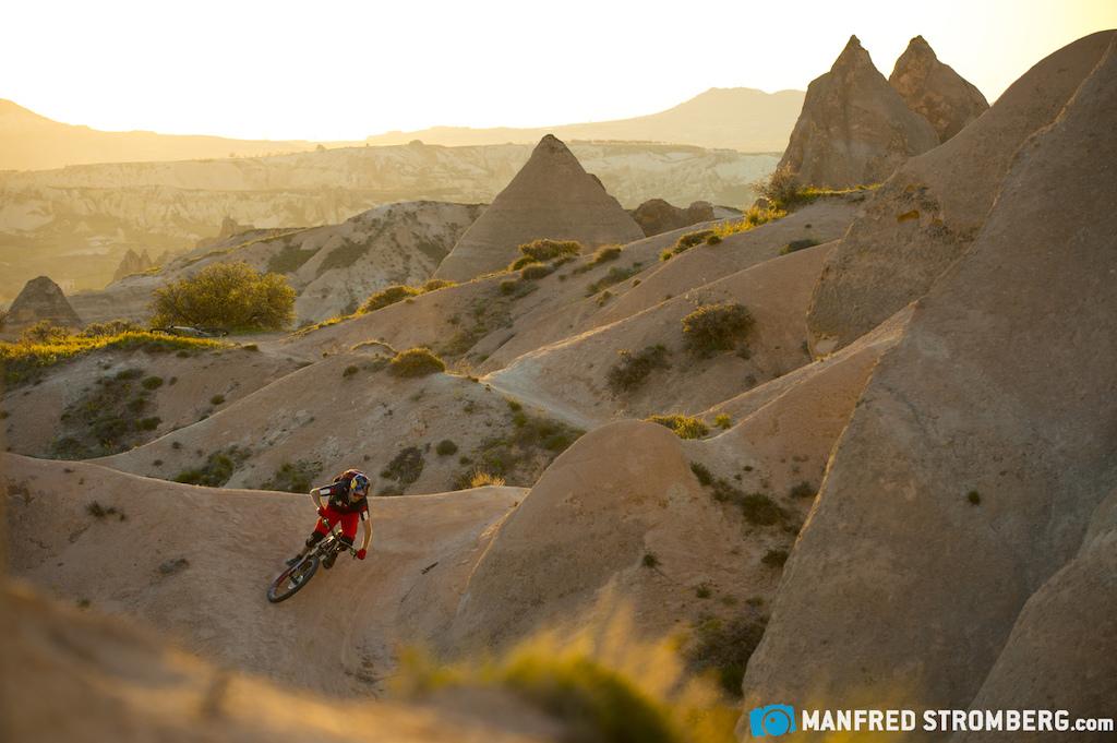 Cappadocia Turkey. Rider Tom hler Photo by Manfred Stromberg