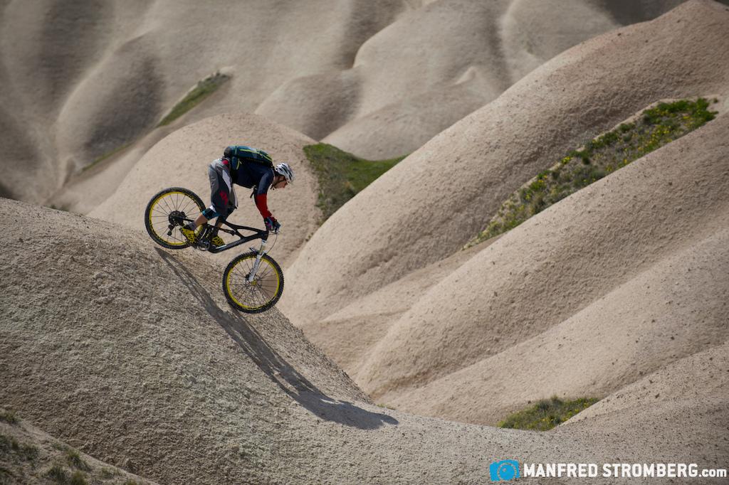 Cappadocia Turkey. Rider Tobias Woggon Photo by Manfred Stromberg