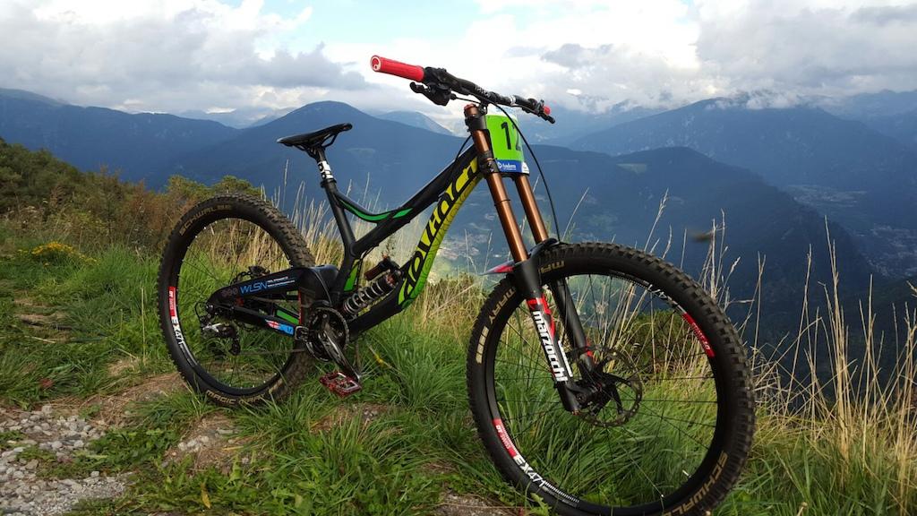 2015 Devinci Wilson 650B FMD Racing Worldcup Bike