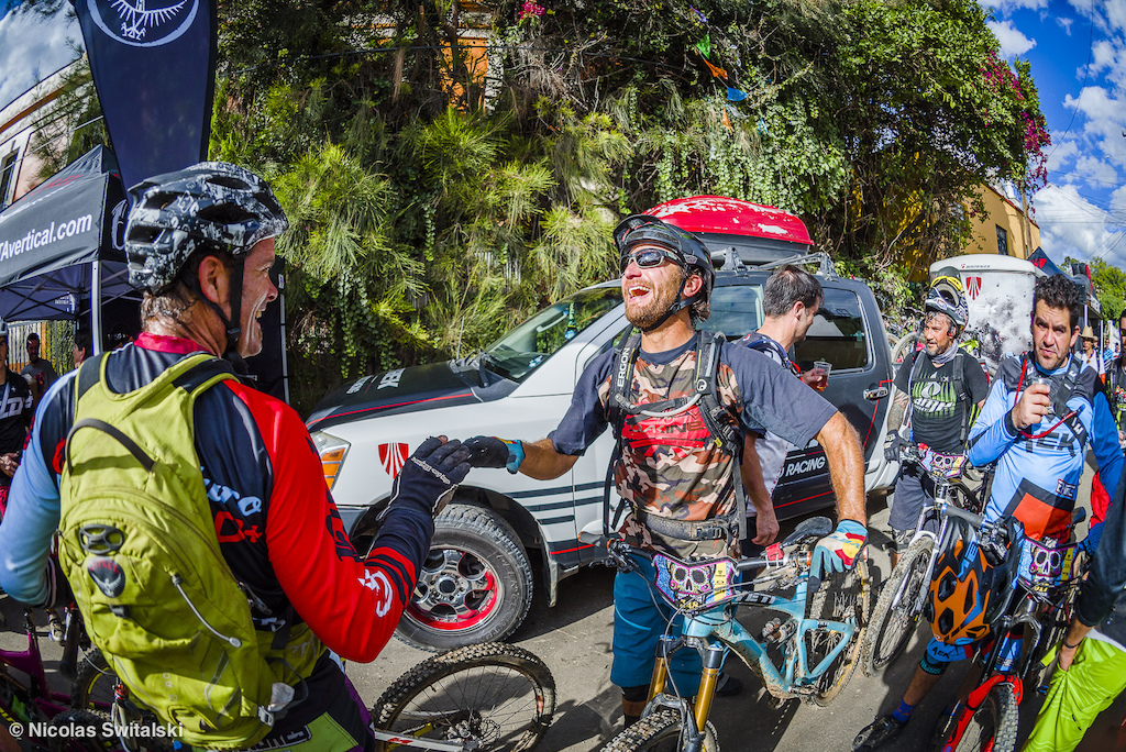 Day of the Dead Enduro Race in Oaxaca Mexico 2015