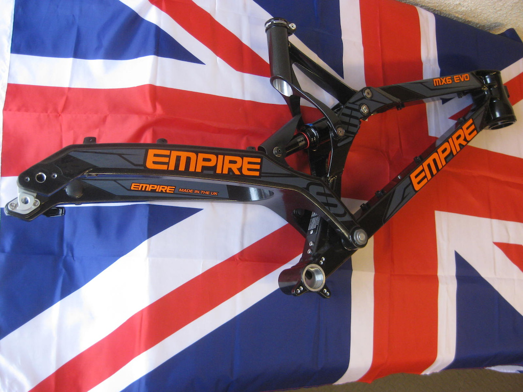 2016 Empire MX6 EVO Free Fitted Hope Headset