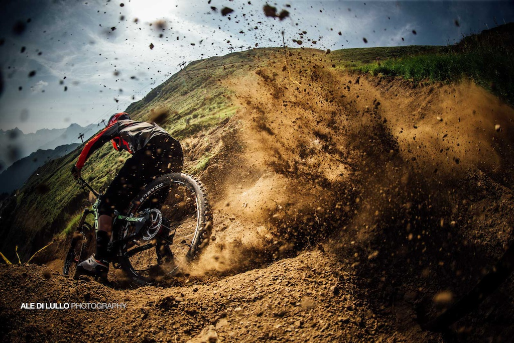 Just Sam smashing the berm