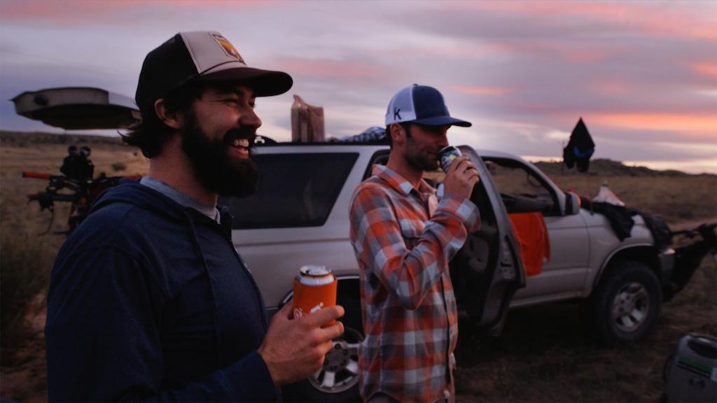 Post ride beers