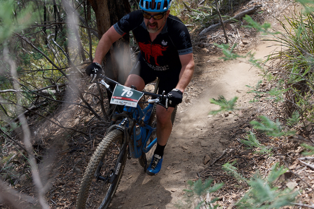 Canberra native Alan Vogt came across the straight to get some Tassie singletrack love.
