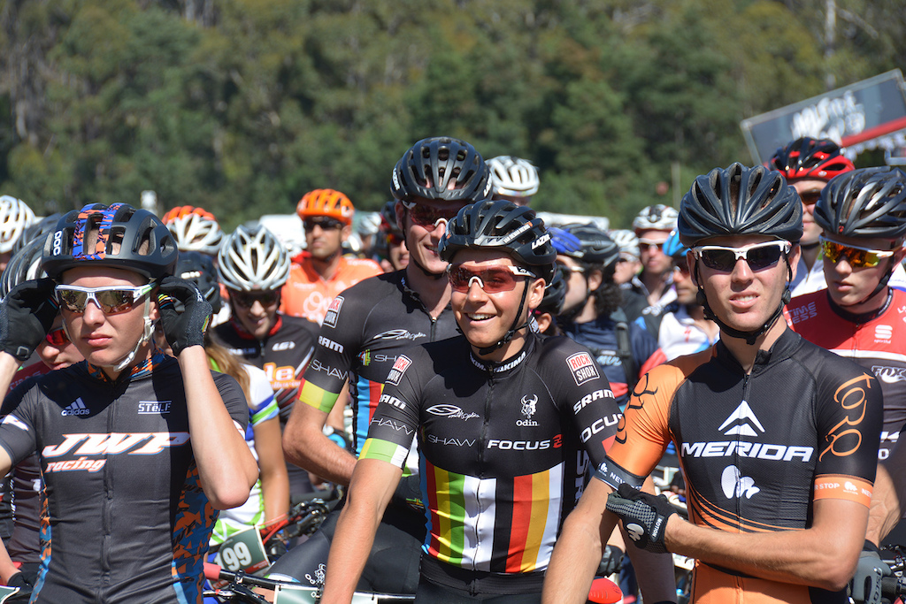 Tassie locals and defending champs Tom Goddard and Scotty Bowden would have their work cut out for them this weekend.