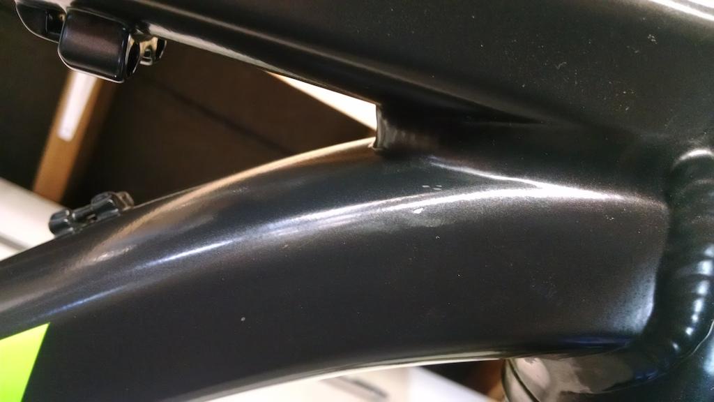 2015 Santa Cruz Chameleon Large Frame and fork