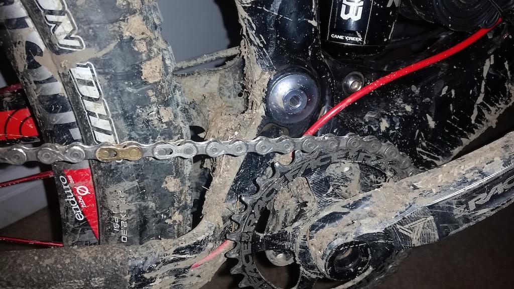 Post muddy ride