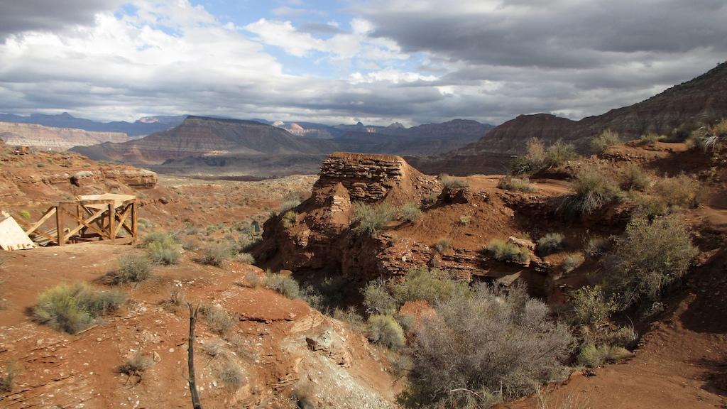 Good-bye canyon gap take-off.