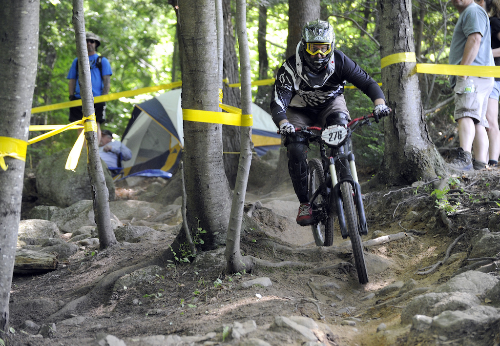 First DH race since picking up the ole steed again. Got dusted and broken, but had a great time. Great group of guys at this race.