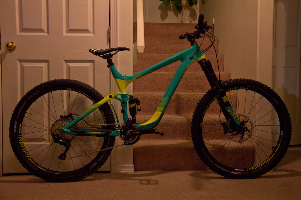 Giant Reign Advanced 1 2016 with Deity parts