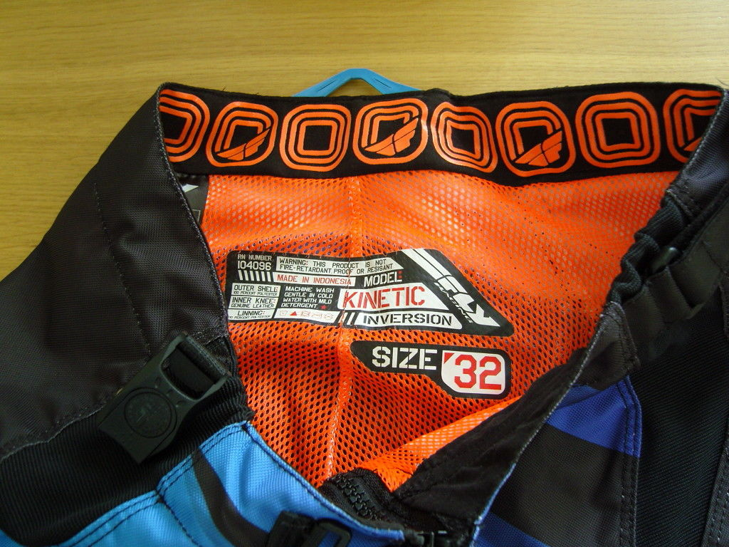 2014 Fly Racing Kinetic Inversion DH Pants