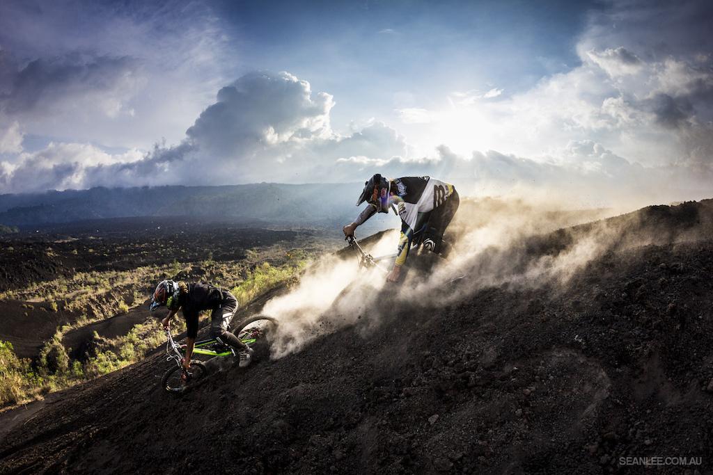 Nick Pescetto and Wyn Masters shredding Bali