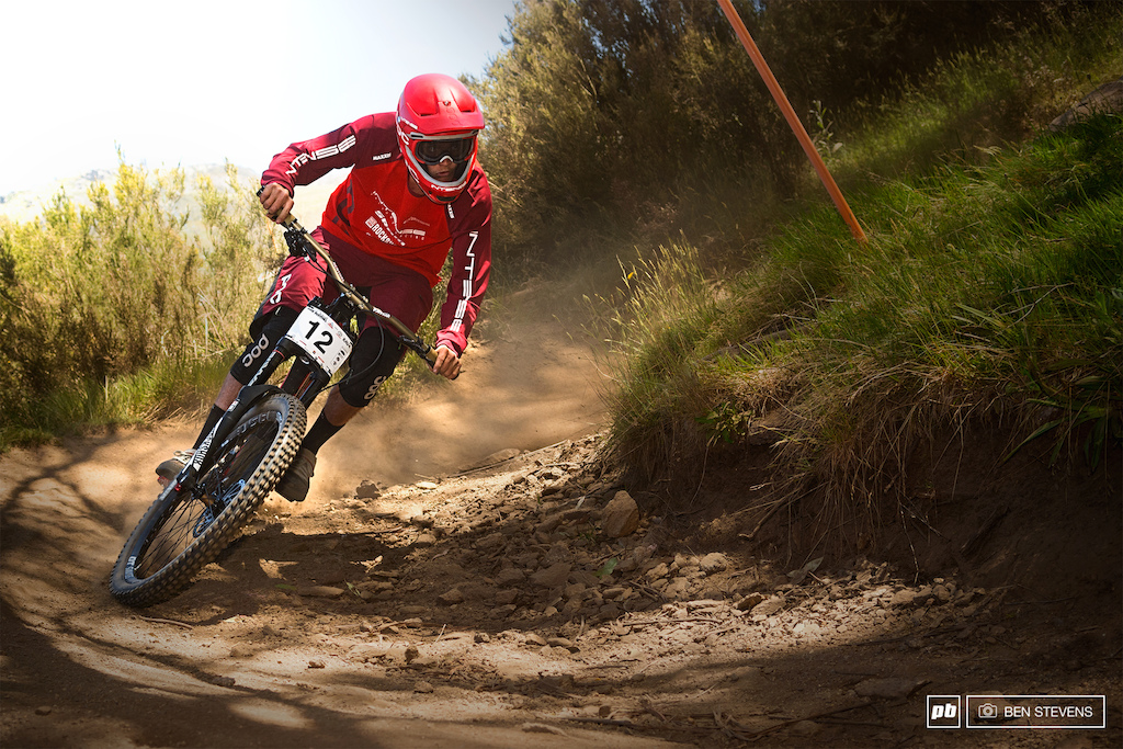 Saturdays seeding run proved to be a good one for Jack Moir qualifying third.