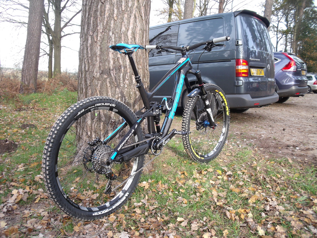Transition Patrol carbon  ready for 2016 with the help of Rusty's cycles