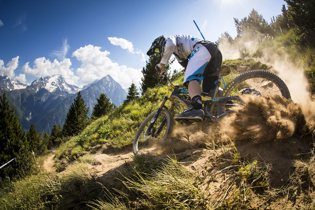 Jared Graves - Over a Decade with Yeti Cycles PR images.