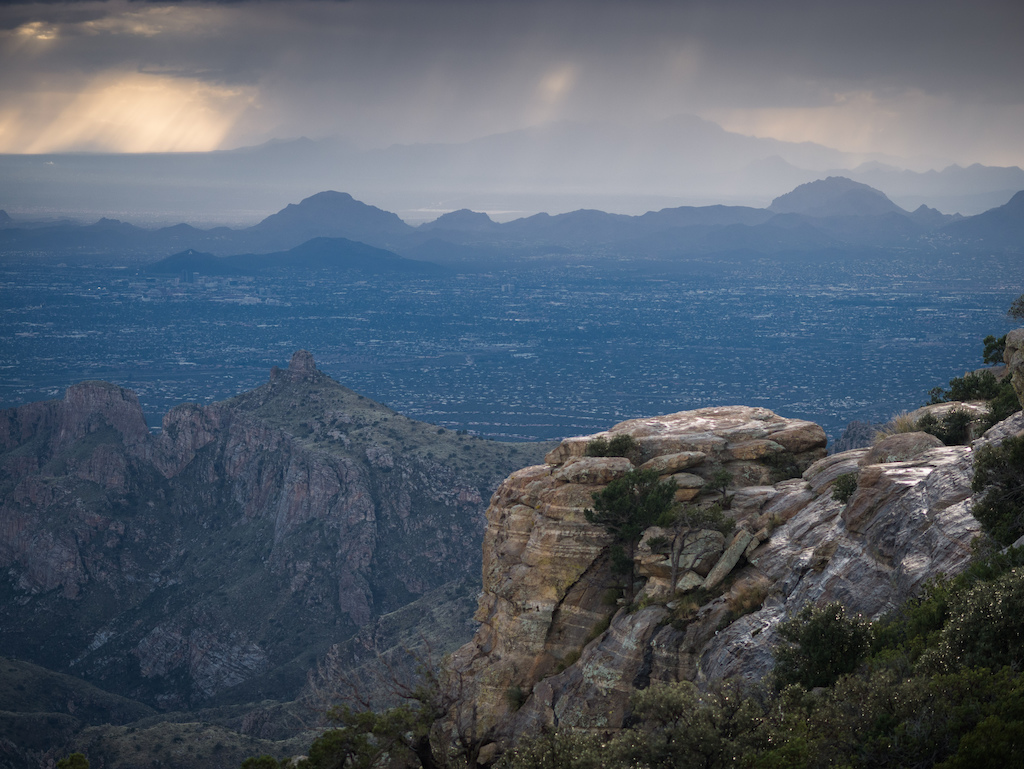 Tucson from Mt Lemmon. A fantastic city.