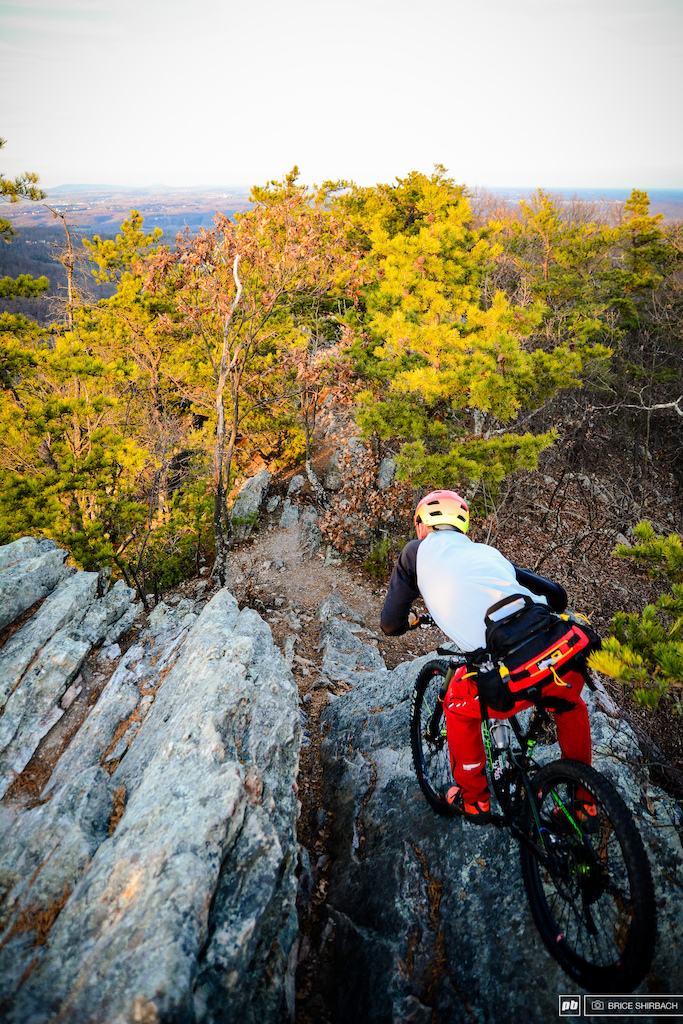 Harlan Price is a trail ninja. High risk awkward and technical terrain isn t for everyone but this is the kind of riding that Harlan credits for jumpstarting his career on two wheels.