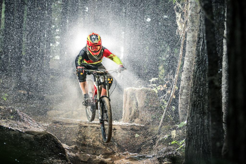 Photo taken by Coast Mountain Photography in the Whistler Bike Park