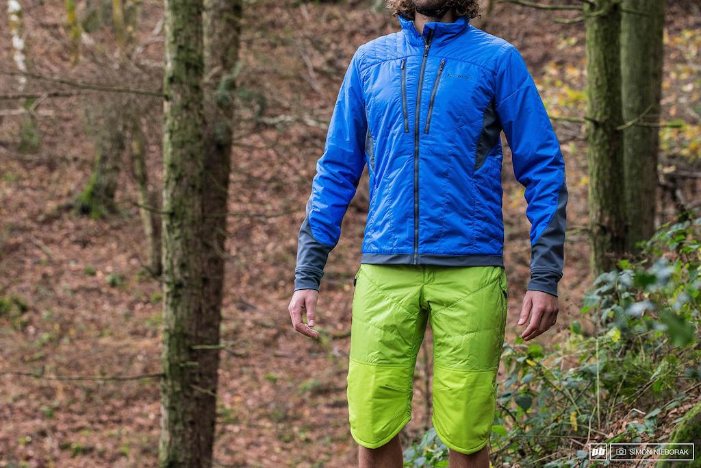 Vaude coat and shorts