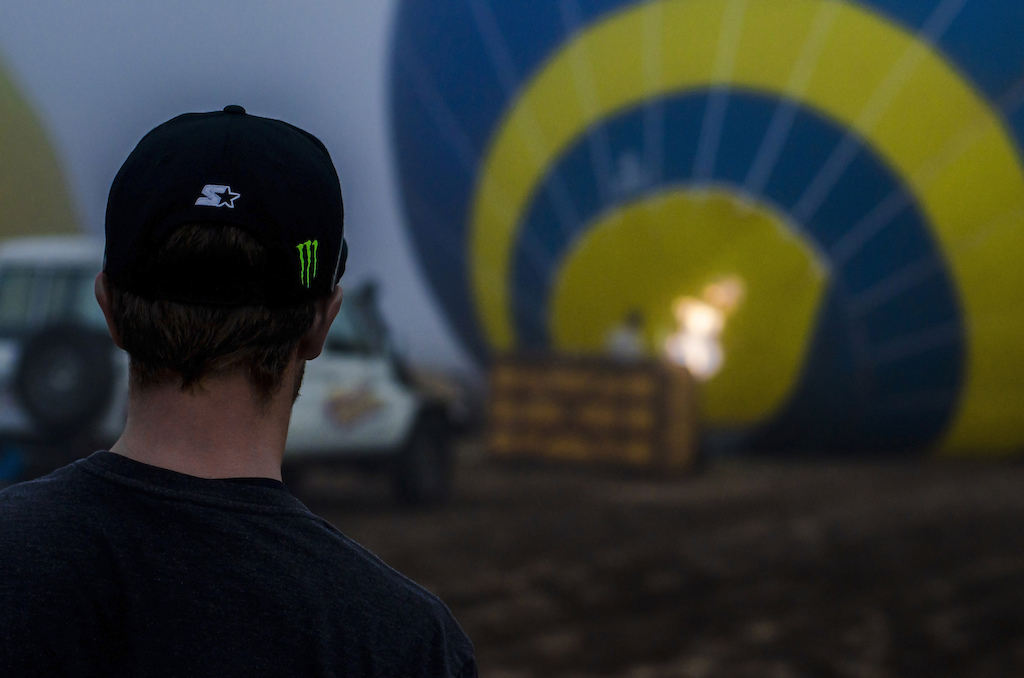 The process of watching a hot-air balloon prepare for liftoff and pack down after a landing is quite an orchestrated ordeal and rather entertaining to watch strangely.