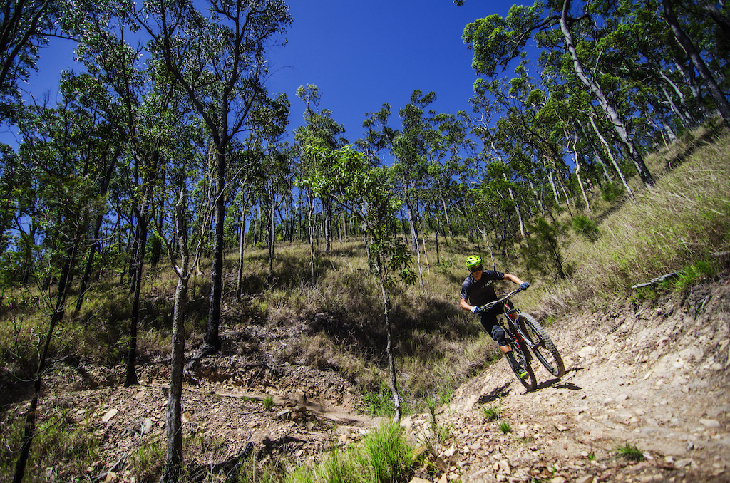 The contrast from moving between the rainforest cloaked Cairns to the dryer open hills of Atherton means the possibility to push trails in are almost limitless - and the park is far from being finished with an already impressive 80kms worth to explore.