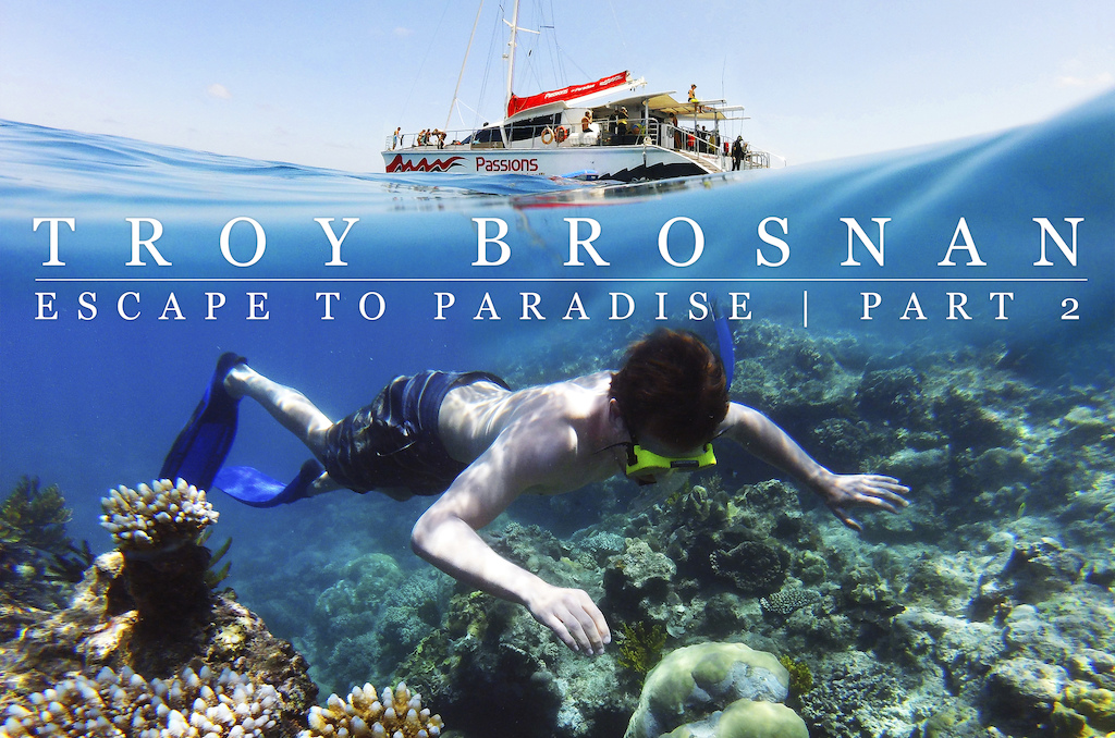 Troy Brosnan rides Cairns