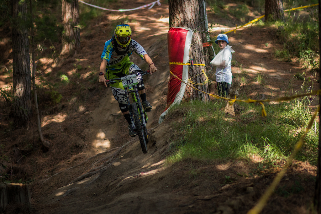 Finn Parsons was looking solid today seeding 1st in U15 7 seconds up.