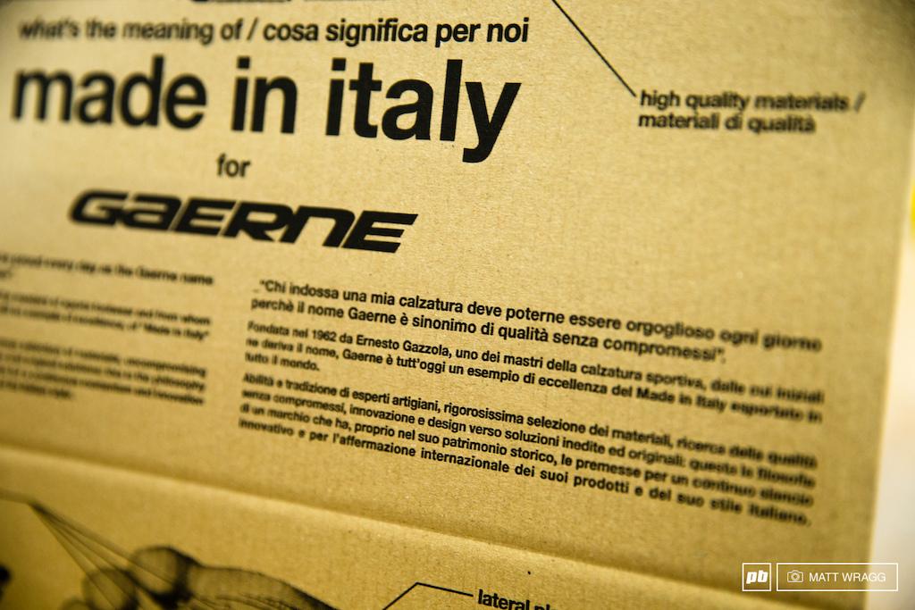 Inside Gaerne. Asolo, Italy. Photo by Matt Wragg.
