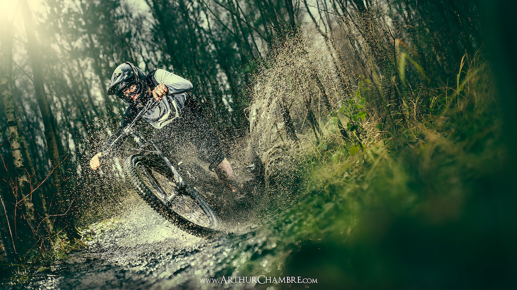 We don't often see dust in the north of France, but we do with it... :)  Rider : @buffart   www.ArthurChambre.com © Arthur Chambre Photographie