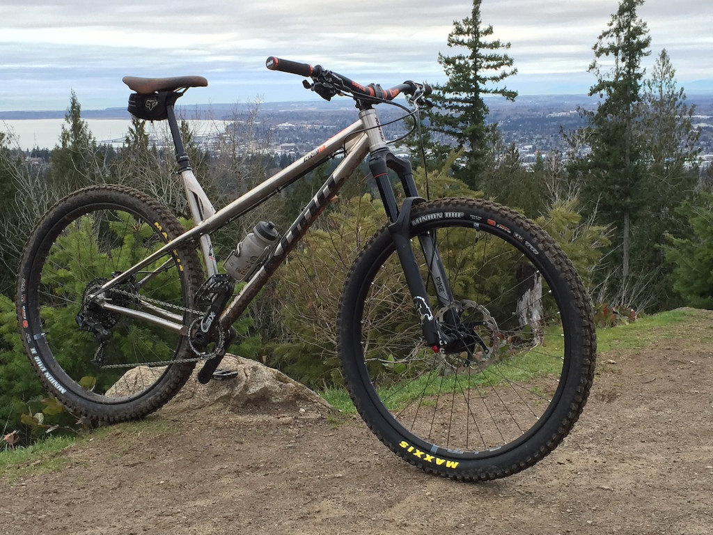 Ti Honzo - next contestant for favorite hardtail yet