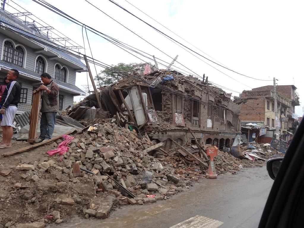 Earthquake 2015.