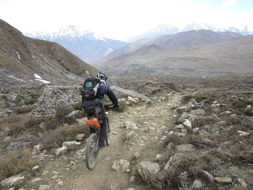 The rocky ripper to Muktinath.